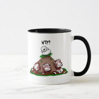 Zombie Sheep WTF? Mug