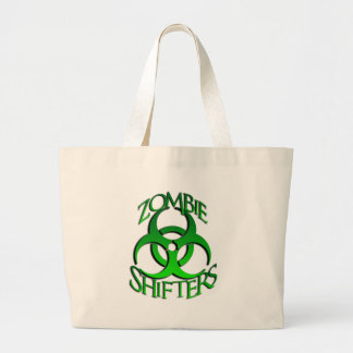 Zombie Shifters Logo Large Tote Bag
