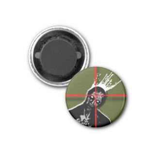 Zombie Shot Refrigerator Magnets