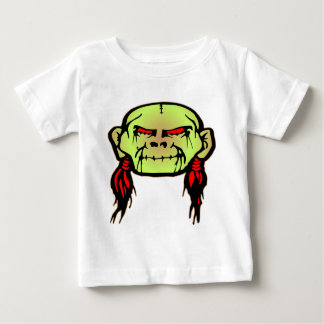 Zombie Shrunken Head Skull T-shirt