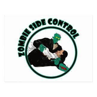 Zombie Side Control Postcard
