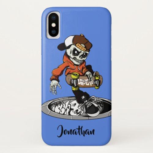 Zombie Skater custom name & color phone cases Phone Case