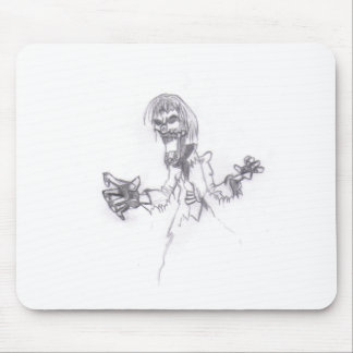 Zombie Sketch Mouse Pad