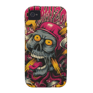 Zombie Skull and Bones Case For The iPhone 4