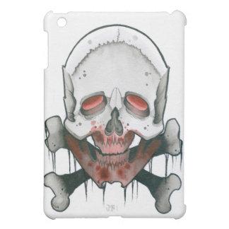 Zombie Skull and Crossbones iPad Mini Cover