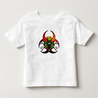Zombie Skull and Crossbones Toddler T-shirt