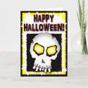 Zombie Skull Cards card
