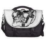 Zombie Skull Drawing 9 Laptop Commuter Bag