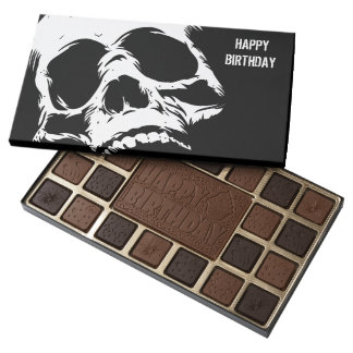 Zombie Skull Face Assorted Chocolates