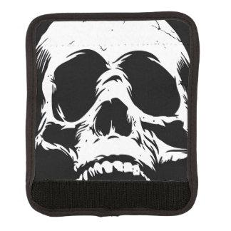 Zombie Skull Face Luggage Handle Wrap