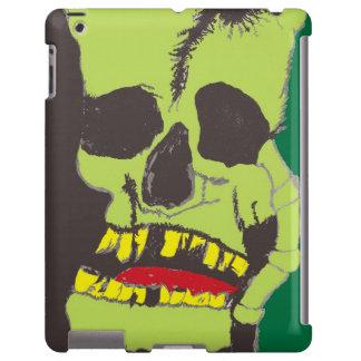 ZOMBIE SKULL GHOUL  iPad Case