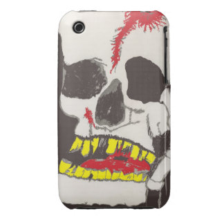 ZOMBIE SKULL GHOUL iPhone 3G/3Gs Case Case-Mate iPhone 3 Case