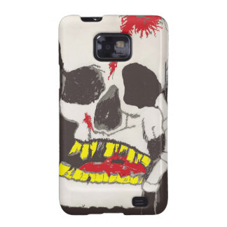 ZOMBIE SKULL GHOUL  Samsung Galaxy S2 Case