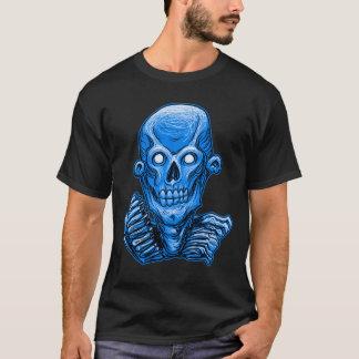 Zombie Skull Head by Rustyoldtown T-Shirt