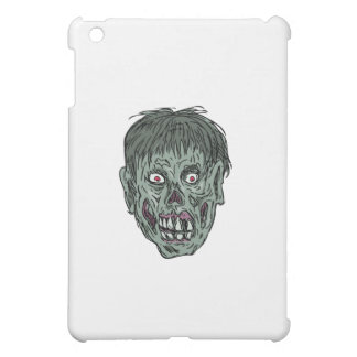 Zombie Skull Head Drawing Cover For The iPad Mini