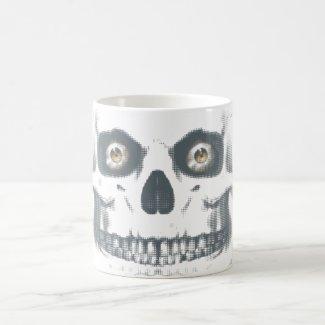 Zombie Skull Morphing Mug. Magic Mug