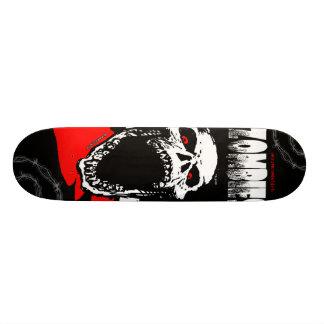 Zombie Skull Skateboard