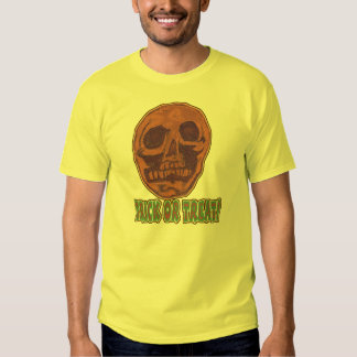 Zombie Skull! Trick or Treat Style 1 T Shirt