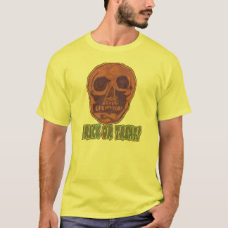 Zombie Skull! Trick or Treat Style 1 T-Shirt