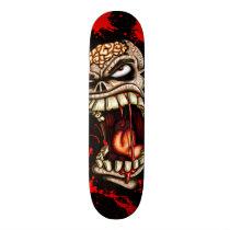 zombie, zombies, undead, dead, blood, walking, creepy, flesh, Skateboard with custom graphic design
