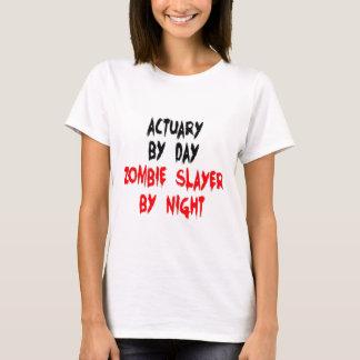 Zombie Slayer Actuary T-Shirt