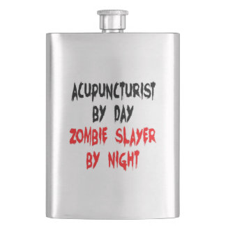 Zombie Slayer Acupuncturist Flask