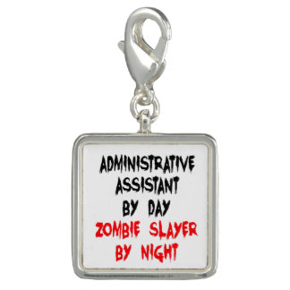 Zombie Slayer Administrative Assistant Charms