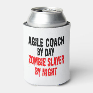 Zombie Slayer Agile Coach Can Cooler