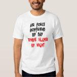 Zombie Slayer Air Force Boyfriend Tshirts