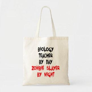 Zombie Slayer Biology Teacher Tote Bag