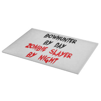 Zombie Slayer Bowhunter Cutting Board