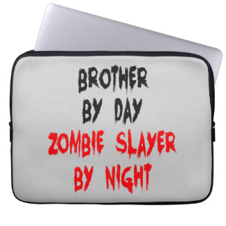 Zombie Slayer Brother Laptop Sleeve