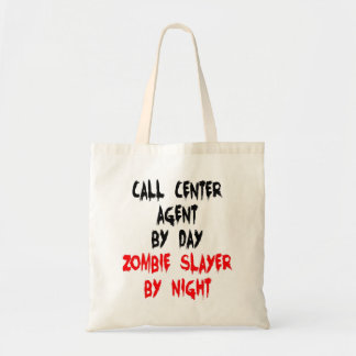 Zombie Slayer Call Center Agent Tote Bag