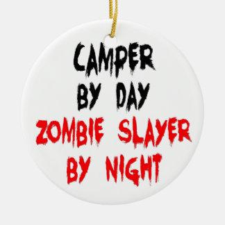 Zombie Slayer Camper Ceramic Ornament