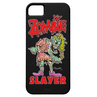 """""""Zombie Slayer"""" - Cartoon Zombie iPhone Case"""
