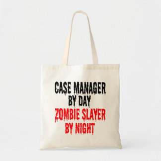 Zombie Slayer Case Manager Tote Bag