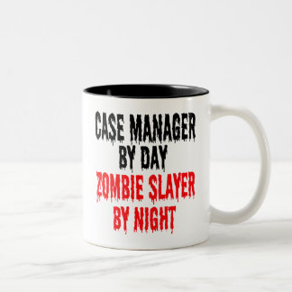 Zombie Slayer Case Manager Two-Tone Coffee Mug