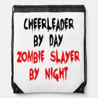 Zombie Slayer Cheerleader Cinch Bags