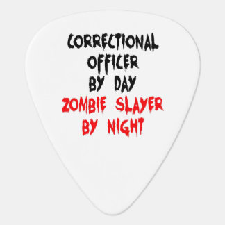 Zombie Slayer Correctional Officer Guitar Pick