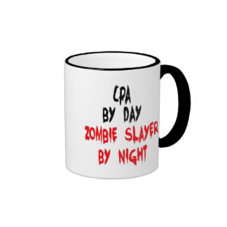 Zombie Slayer CPA Ringer Mug