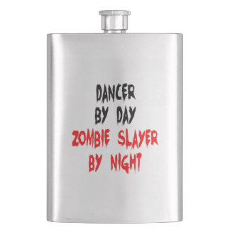 Zombie Slayer Dancer Hip Flask