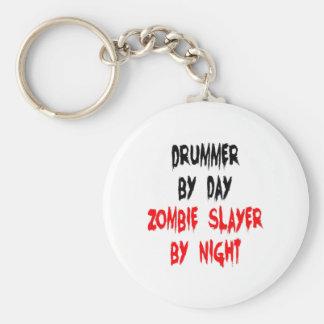 Zombie Slayer Drummer Keychain