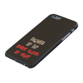 Zombie Slayer Engineer Carved® Maple iPhone 6 Case