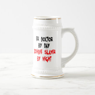 Zombie Slayer ER Doctor Beer Stein