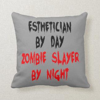 Zombie Slayer Esthetician Pillow