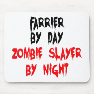 Zombie Slayer Farrier Mouse Pad