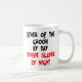 Zombie Slayer Father of the Groom Classic White Coffee Mug