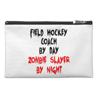 Zombie Slayer Field Hockey Coach Travel Accessory Bag