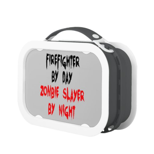 Zombie Slayer Firefighter Lunchboxes