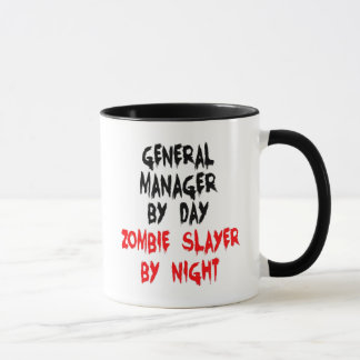 Zombie Slayer General Manager Mug